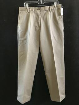 NWT Dockers Men's Signature Khaki Beige Straight Fit Flat Fr