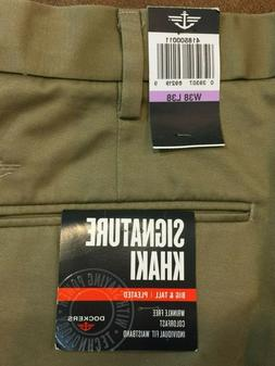 NWT men's Dockers signature khaki big & tall classic fit D3