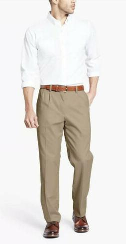 NWT Men's Dockers Stretch Easy Khaki D3 Classic-Fit Pleated