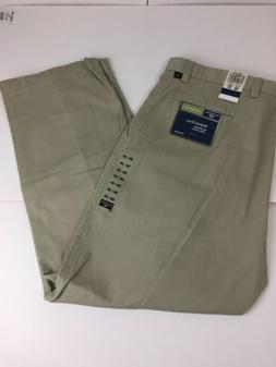 NWT Men's Dockers Washed Chino Pants Relaxed Fit Pleat Front