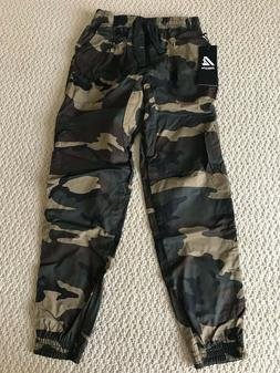 NWT Men's Ablanche Woodland Green Camouflage Camo Jogger Pan