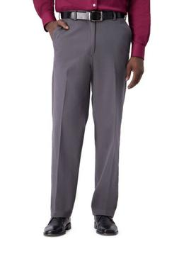 NWT Men's Haggar Work-To-Weekend PRO Stretch Flat-Front Pant
