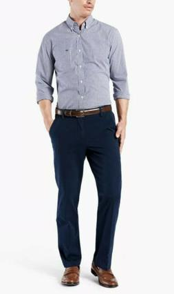 NWT Men's Dockers Workday Khaki Pants - Straight Fit - Navy