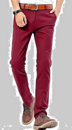 NWT Men INFLATION Slim Fit Tapered Flat Front Flap Pocket Pa