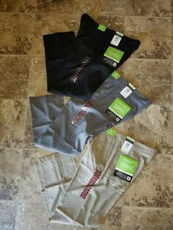 nwt mens performance comfort casual pants straight