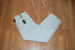 NWT Mens DOCKERS Stone Wrinkle Free D2 Essential Khaki Pants