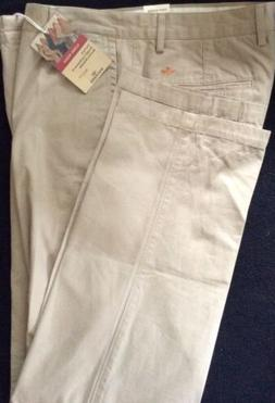 NWT Dockers Pacific Collection Field Khakis-Flat Front—34