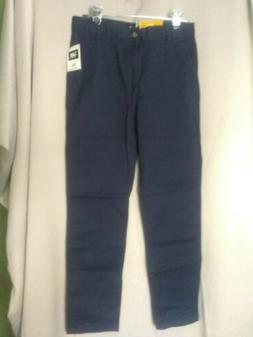 NWT LEE UNIFORMS YOUNG MENS $38 SLIM FIT 5 POCKET PANT IN NA