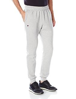 Champion Men's Powerblend Retro Fleece Jogger Pant, Oxford G