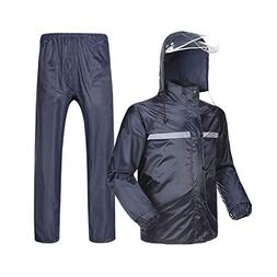 Rainsuit Raincoat Split Reflective Top + Waterproof Pants Ou