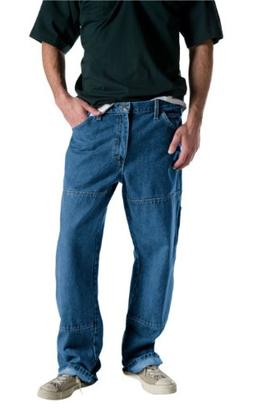 Dickies Men's Relaxed Fit Double Knee Carpenter Jean, Blue,
