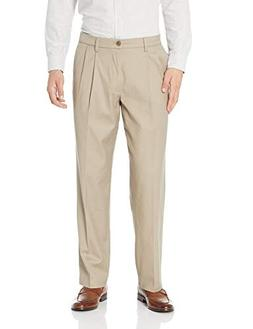 Dockers Men's Relaxed Fit Signature Khaki Lux Cotton Stretch