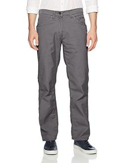 LEE Men's Relaxed Fit Utility, Graphite, 36W x 32L