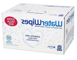 WaterWipes Sensitive Baby Wipes, Natural & Chemical-Free, 9