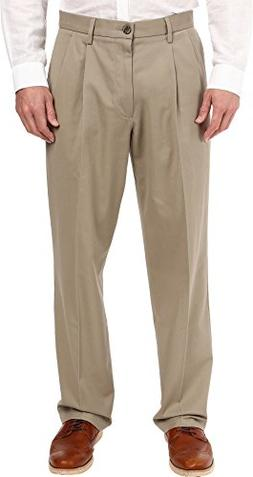 Dockers Men's Signature Khaki D4 Relaxed Fit Pleated Timberw