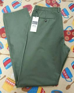 INFLATION SIZE 34 X 36 Men's Casual Pants GREEN
