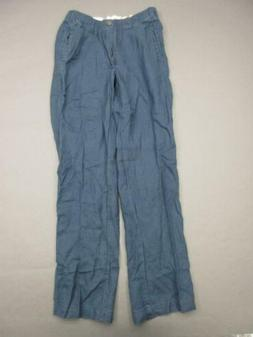 28 PALMS SIZE XS MENS NAVY 100% LINEN SIDE POCKETS CASUAL SU