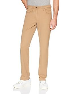 Goodthreads Men's Slim-Fit 5-Pocket Chino Pant, Khaki, 32W x