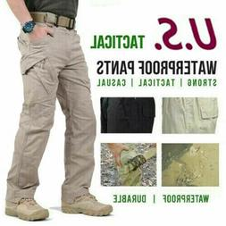 Soldier Tactical Waterproof Pants Mens Cargo Casual Pants Co