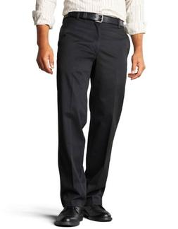 Dockers Men's Straight Fit Signature Khaki Pant D2,Black,32x