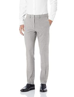 Kenneth Cole REACTION Men's 4-Way Stretch Solid Gab Slim Fit
