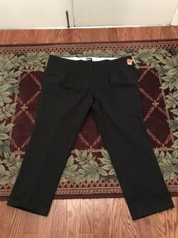 Dockers The Stain Defender Men's Khakis Black Size 52 X 32