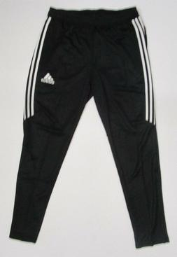 adidas Men's Soccer Tiro 17 Pants, X-Small, Black/White/Whit