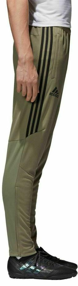 adidas Tiro 17 TRG Olive Pale Green Black Track Pants Soccer