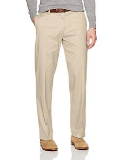 LEE Men's Total Freedom Stretch Relaxed Fit Flat Front Pant,