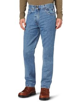 Carhartt Men's Traditional Fit Five Pocket Tapered Leg B18,S
