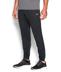 Under Armour UA Tricot Tapered Leg Solid Black Men's Jogger