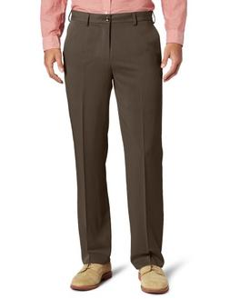 IZOD Men's Ultimate Travel Straight Fit Pant, Recycled Brown