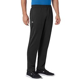 Champion Men's Double Dry Select Training Pant, Black, L