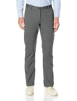 Dockers Men's Washed Khaki Slim Tapered-Fit Pant, Burma Grey