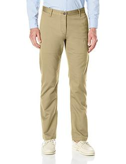 Dockers Men's Washed Khaki Slim Tapered-Fit Pant, New Britis