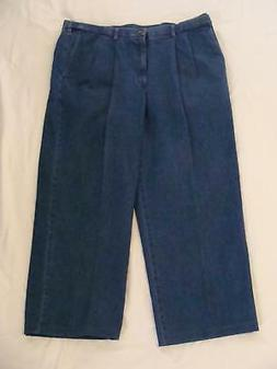 Haggar Men's Work To Weekend Hidden Expandable Waist Denim P