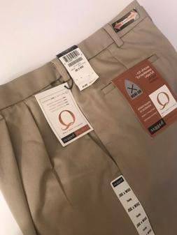 Haggar Men's Work To Weekend No Iron Denim Plain Front Pant