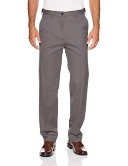 Haggar Men's Work to Weekend PRO Relaxed Fit Flat Front Pant